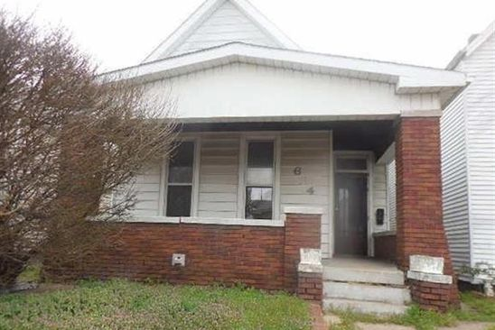 3 bed 1 bath Multi Family at 624 E DELAWARE ST EVANSVILLE, IN, 47711 is for sale at 49k - google static map