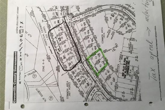 0 bed null bath Vacant Land at 42 Lowther Hall Ln Greenville, SC, 29615 is for sale at 75k - google static map