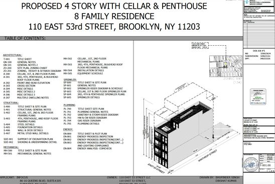 4 bed null bath Vacant Land at 110 E 53RD ST BROOKLYN, NY, 11203 is for sale at 619k - google static map