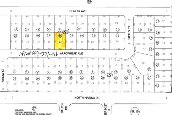 null bed null bath Vacant Land at 2635 ARROWHEAD AVE THERMAL, CA, 92274 is for sale at 3k - google static map
