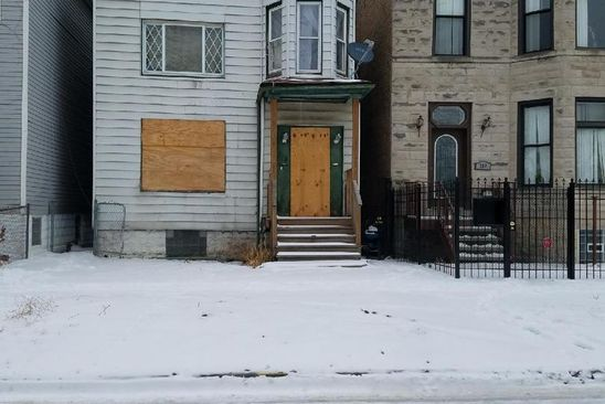 4 bed 2 bath Multi Family at 718 E 93rd St Chicago, IL, 60619 is for sale at 23k - google static map