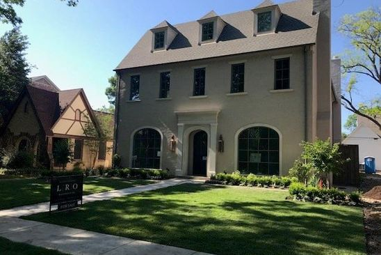 5 bed 6 bath Single Family at 3820 PURDUE AVE DALLAS, TX, 75225 is for sale at 2.40m - google static map