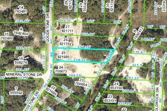 null bed null bath Vacant Land at 0 Goodstone Dr Webster, FL, 33597 is for sale at 6k - google static map