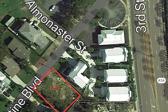 null bed null bath Vacant Land at 344 Saint Augustine Blvd Jacksonville Beach, FL, 32250 is for sale at 285k - google static map
