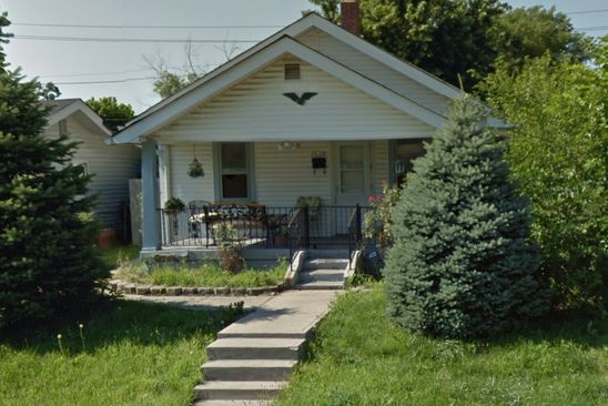 2 bed 1 bath Single Family at 1518 Hoefgen St Indianapolis, IN, 46203 is for sale at 80k - google static map