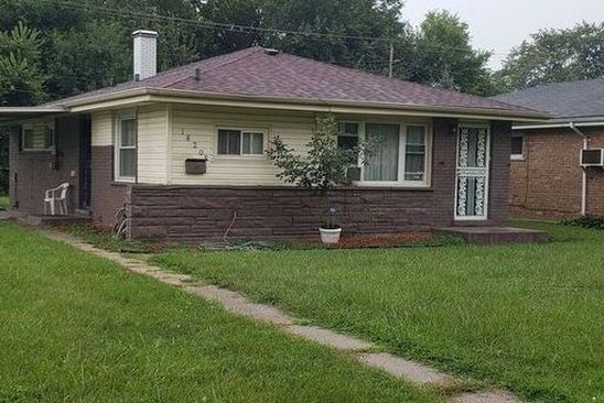 3 bed 1 bath Single Family at 16205 DAMEN AVE MARKHAM, IL, 60428 is for sale at 59k - google static map