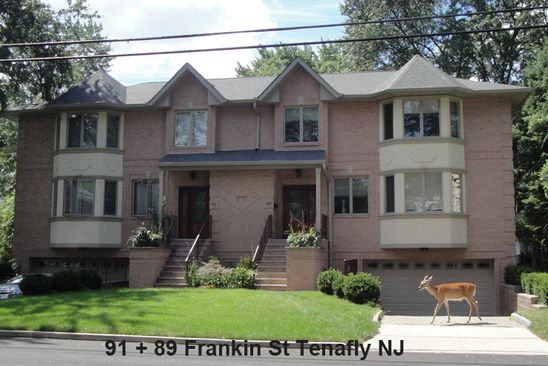 3 bed 4 bath Single Family at 89 Franklin St Tenafly, NJ, 07670 is for sale at 728k - google static map