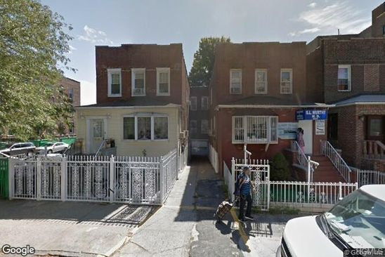7 bed 3 bath Multi Family at 2036 BENEDICT AVE BRONX, NY, 10462 is for sale at 809k - google static map