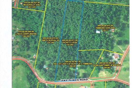 null bed null bath Vacant Land at  Jake Duke Rd Grand Rivers, KY, 42045 is for sale at 16k - google static map